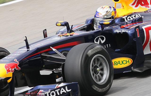 Sebastian Vettel - Photo by Morio (Wikimedia Commons)