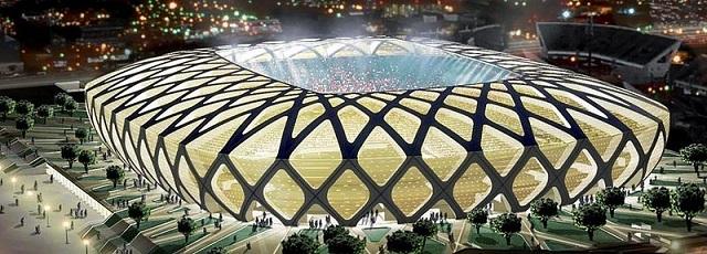 Arena Amazônia - Image from Copa2014.gov.br (Brazilian Government), via Wikimedia Commons