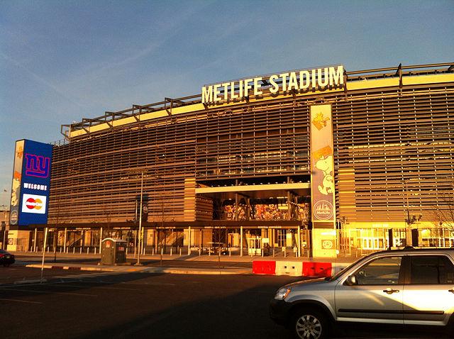 MetLife Stadium, New Jersey - Photo by gargudojr (Source: Wikimedia Commons)