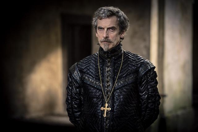 Peter Capaldi as Cardinal Richelieu - Image Credit: BBC. Photographer: Robert Viglasky