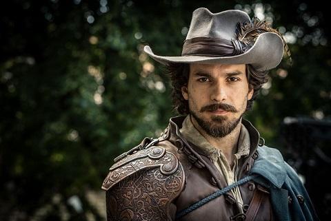 Santiago Cabrera as Musketeer, Aramis - Image Credit: BBC. Photographer: Dusan Martincek