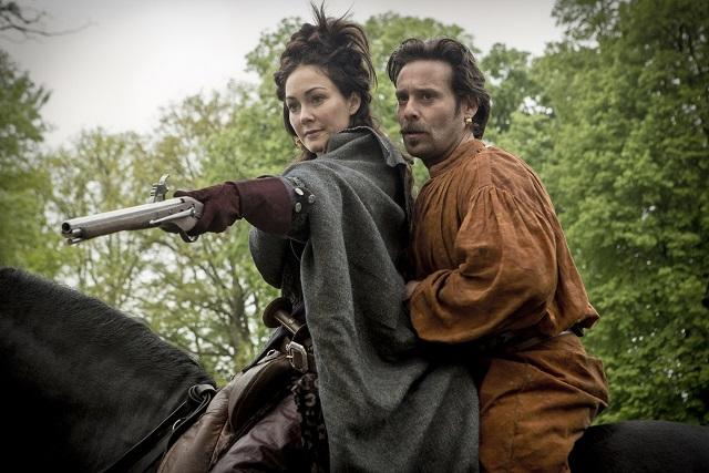 Maria Bonnaire (Anna Skellern) and  Emile Bonnaire (James Callis) - Image Credit: BBC/Larry Horricks. Photographer: Larry Horricks