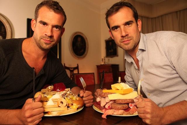 Chris van Tulleken and Xand van Tulleken - Image Credit: BBC/Joanna Barwick