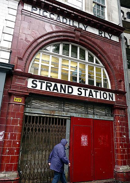 Aldwych Underground Station - Photo by JensPersson (Source: Wikimedia Commons)