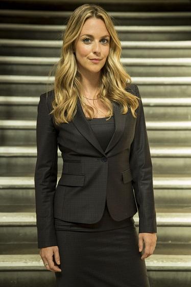 Silks new Practice Manager: Harriet (Miranda Raison) - Image Credit: BBC. Photographer: Colin Hutton