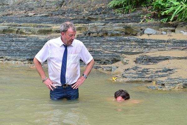 Burma Special Jeremy Clarkson, Richard Hammond - Image Credit: BBC/Ellis O'Brien