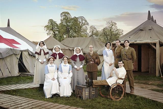 The Crimson Field BBC Cast - Image Credit: BBC/Todd Anthony