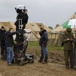 Where was The Crimson Field filmed for BBC?