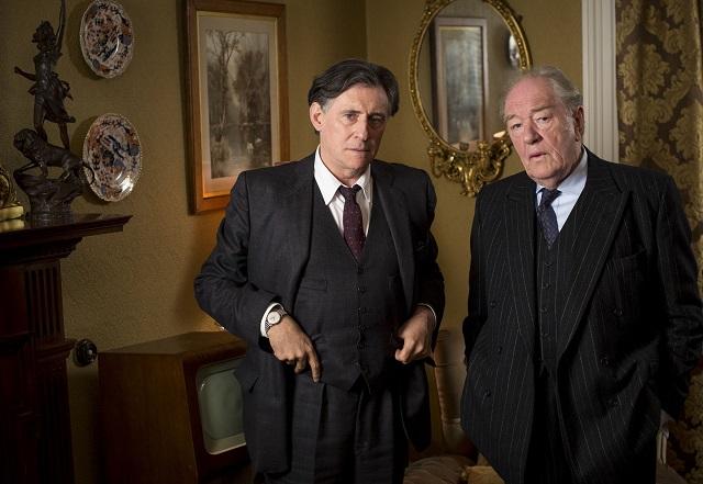 Quirke (GABRIEL BYRNE) and  Judge Garret Griffin (MICHAEL GAMBON) - Image Credit: BBC/Steffan Hill