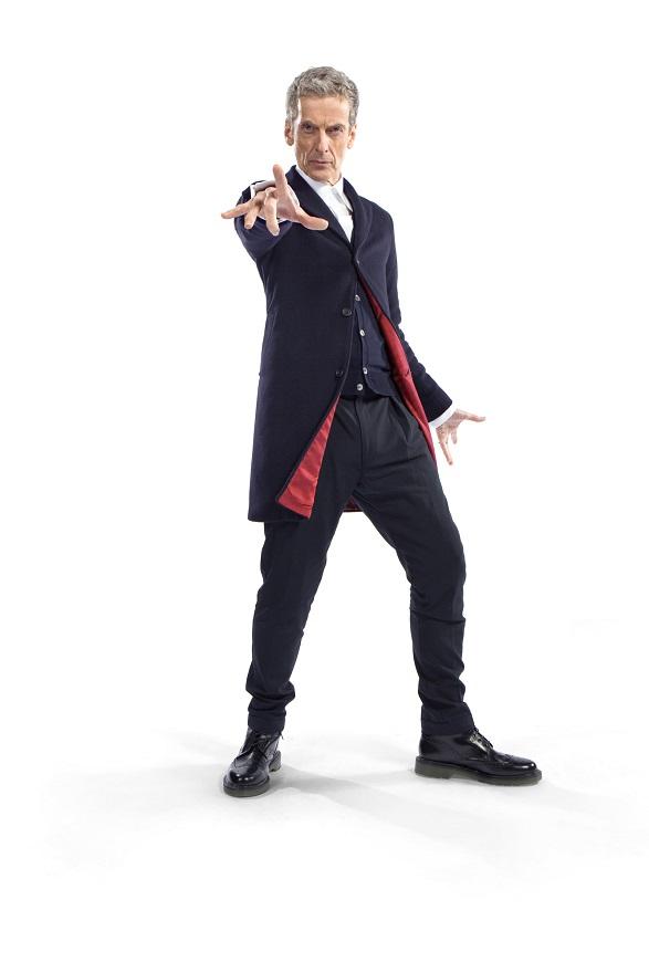 The Doctor (PETER CAPALDI) - Image Credit: BBC/Steve Brown
