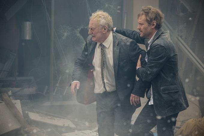 Samuel (BERNARD HILL) and Robbo (STEVEN MACKINTOSH) - Image Credit: BBC/Kudos/Robert Viglasky
