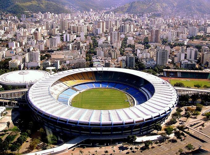 Estadio Do Maracana, Rio de Janeiro - Photo by Arthur Boppré (Via Wikimedia)