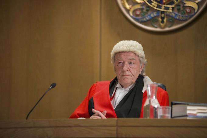 Common: Royal Court Judge (SIR MICHAEL GAMBON) - Image Credit: BBC/LA Productions. Photographer: Tony Blake