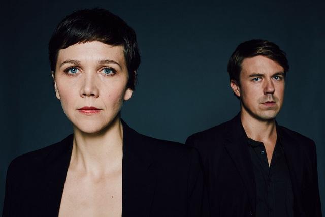 Nessa Stein (MAGGIE GYLLENHAAL) and Ephra Stein (ANDREW BUCHAN)  - Image Credit: BBC/Drama Republic. Photographer: Des Willie