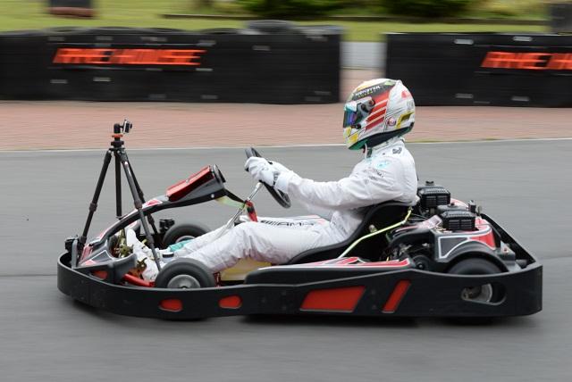 Lewis Hamilton karting - Image Credit: BBC/THANEBRUCKLAND