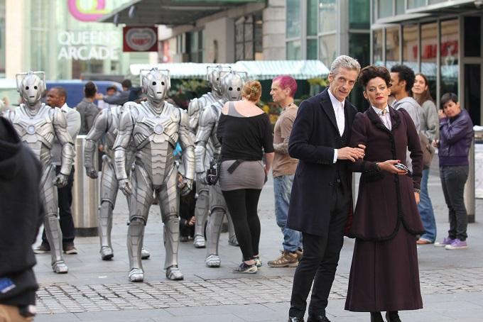 Behind the scenes - Image Credit: BBC/Gavin Collinson