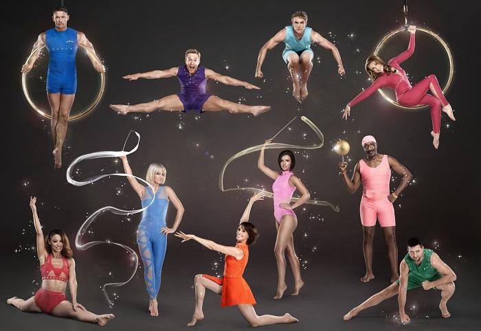 The Tumble BBC Celebrity Contestants: AMELLE BERRABAH, JOHN PARTRIDGE, SARAH HARDING, IAN H WATKINS, ANDREA MCLEAN, LUCY MECKLENBURGH, BOBBY LOCKWOOD, EMMA SAMMS, MR MOTIVATOR, CARL FROCH - Image Credit: BBC/Colin Bell/Kaia Zak