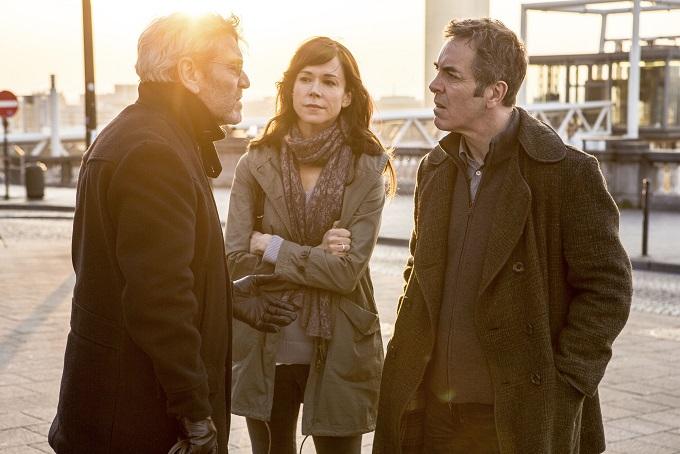The Missing BBC Cast: Julien (TCHEKY KARYO), Emily (FRANCES O'CONNOR) and Tony (JAMES NESBITT) - Image Credit: BBC/New Pictures. Photographer: Jules Heath