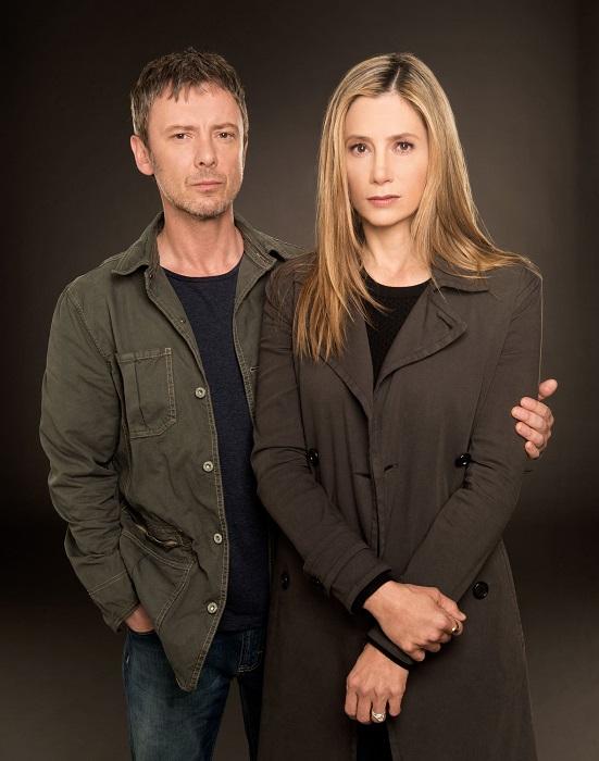 Jack Whelan (JOHN SIMM) and Amy Whelan (MIRA SORVINO) - Image Credit: BBC Worldwide Limited/Cate Cameron