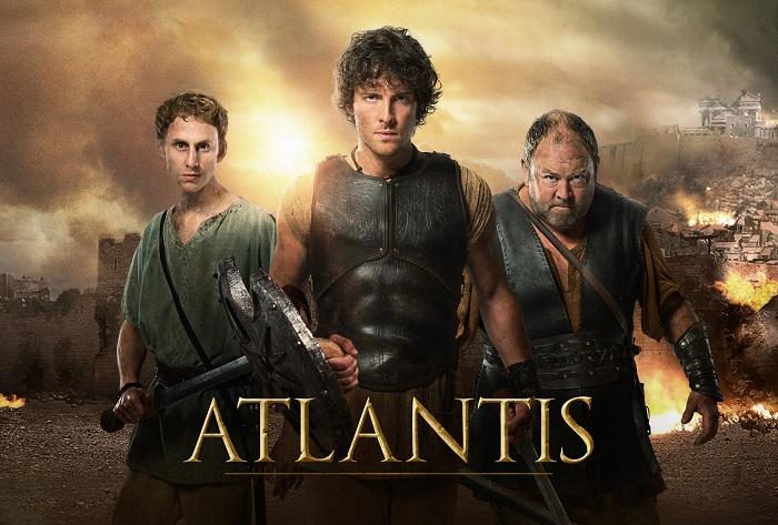 Hercules (MARK ADDY) , Jason (JACK DONNELLY) and Pythagoras (ROBERT EMMS) - Image Credit: BBC/Urban Myth Films Ltd/Ray Burmiston/Alicia Kulikowski