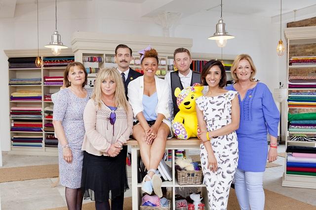 May Martin, Helen Lederer, Patrick Grant, Gemma Cairney, Timmy Matley, Anita Rani and Kathryn Flett - Image Credit: BBC/Love Productions/Charlotte Medlicott