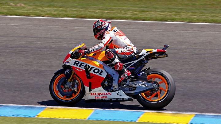 Marc Márquez: Repsol Honda Team - Photo by Matthieu PELLETIER (Sourced via Wikimedia Commons)