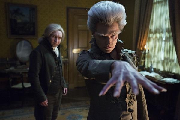 Mr Norrell (EDDIE MARSAN) and The Gentleman (MARC WARREN) - Image Credit: BBC/JSMN Ltd/Matt Squire