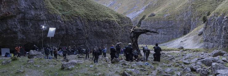 Jonathan Strange & Mr Norrell - Behind the scenes filming: Image Credit: BBC/JSMN Ltd/Matt Squire